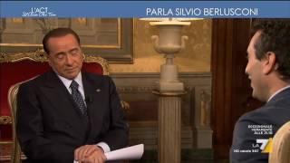 Berlusconi: 'Avete ancora la pubblicità a La7? Bravi' Video