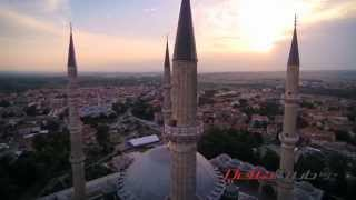Edirne Turkey  city photos gallery : Selimiye Mosque Edirne Turkey aerial views