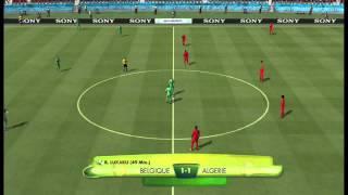 fifa coupe du monde au bresil 2014 (match 1)(belgique - algerie)