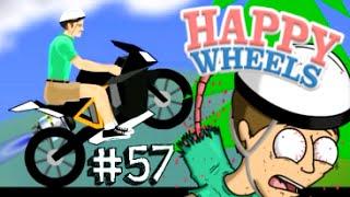 TRAGEDIA IN MOTO! (Adrenalina Powa) - Happy Wheels [Ep.57] - YouTube