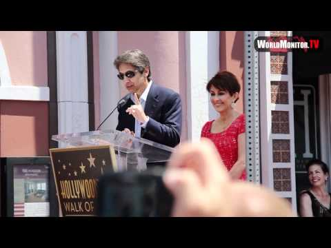 ray romano - Ray Romano speech at Patricia Heaton Hollywood walk of fame Ceremony.