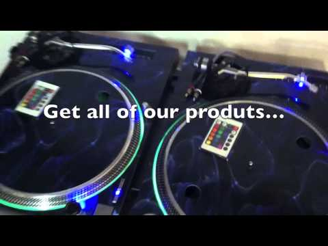 ICE COLD CUSTOMS 2012 Technics 1200 DJ Turntable www.icecoldcustomsdjgear.com
