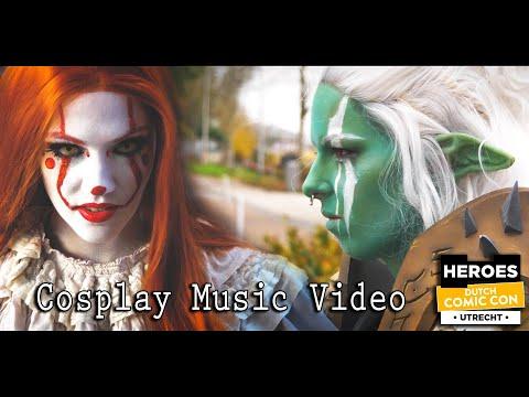 Dutch Comic Con 2019 - Winter Edition Cosplay Music Video