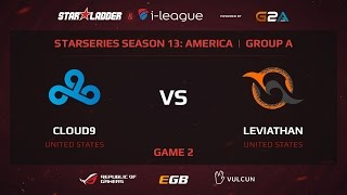 Cloud9 vs Leviathan, game 2