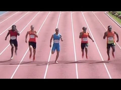 Santos wins 400m over Wariner at 2012 adidas Grand Prix