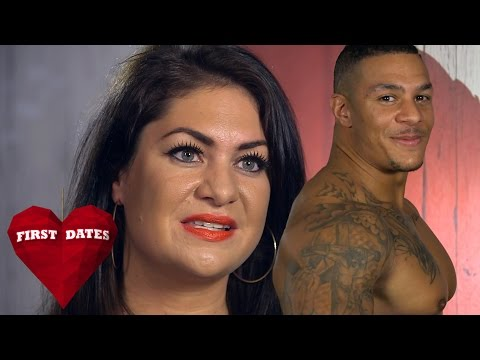 Dater Shows Off Dance Moves To Male Stripper | First Dates (видео)