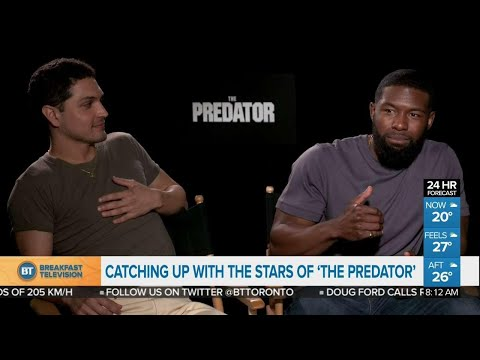 Stars of 'The Predator' talk about action and controversy