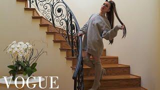 73 Questions with Ariana Grande | Vogue Parody