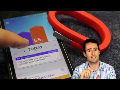 how to use the jawbone up24