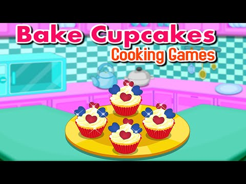 Video of Bake Cupcakes - Cooking Games