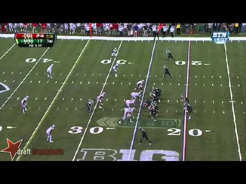 Noah Spence vs Michigan St. 2013 video.