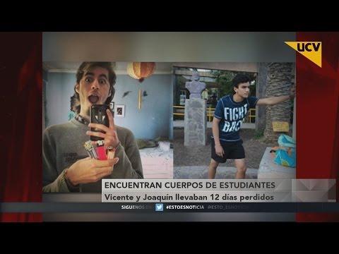 video Confirman muerte de jóvenes desaparecidos en cerro Provincia