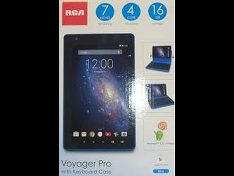 RCA Voyager Pro Unboxing (Cyber Monday Purchase 2015)