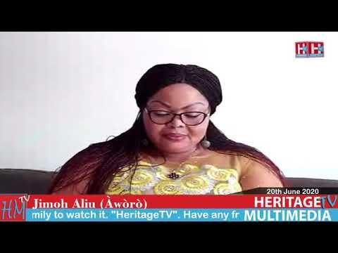 Jimoh Aliu Aworo on Odua Legend   This is Heritage TV 20th June 2020