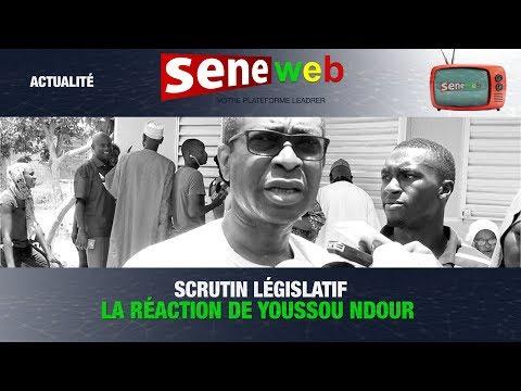 Scrutin législatif: la réaction de Youssou Ndour