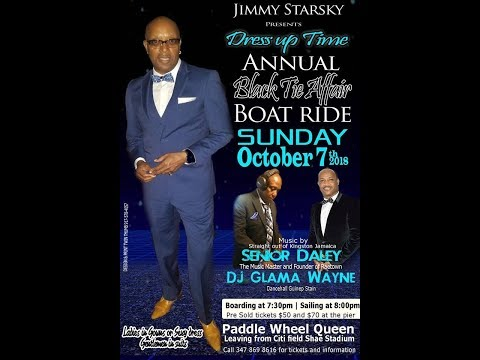 Jimmy Starsky's Annual Bow Tie Affair Boatride 2018