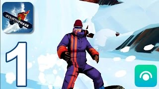 Snowboarding The Fourth Phase - Gameplay Walkthrough Part 1 - Greenline, Hozameen (iOS, Android)