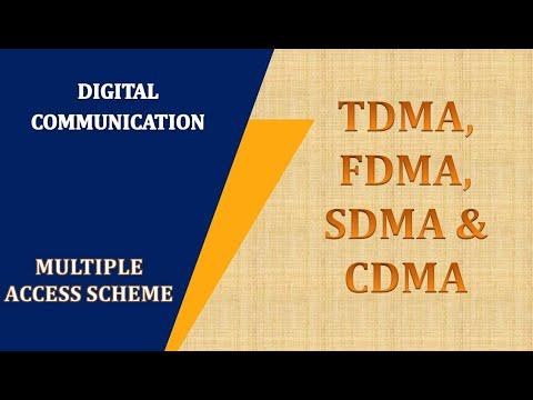 FDMA  TDMA  SDMA  CDMA  Satellite Communication  Multiple access techniques   Lecture 2