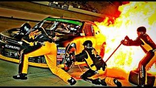 Video NASCAR Pit Road Accidents MP3, 3GP, MP4, WEBM, AVI, FLV April 2019