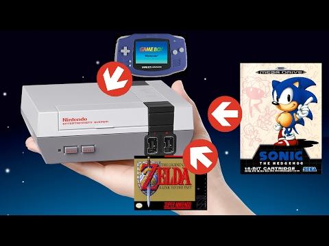 Des jeux MEGADRIVE / SUPER NINTENDO / GAMEBOY sur Nintendo NES Classic Mini : le tuto !