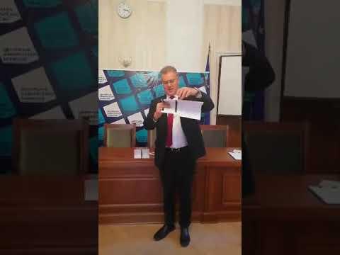 Инструкции за сгъване на бюлетина - Местни избори 2019 г.