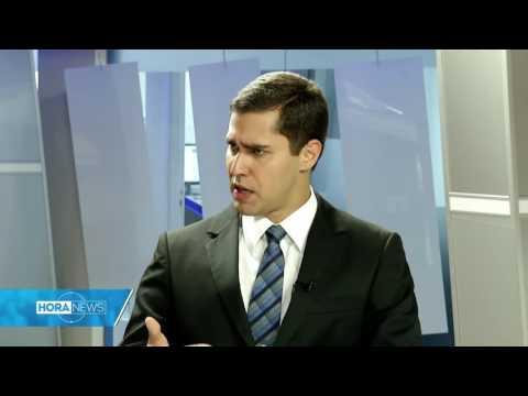 Eleições 2016  Segundo Turno   Entrevista Sérgio Vidigal   Record News ES