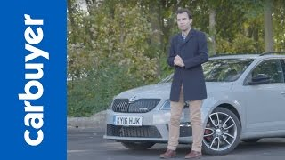 2016 Skoda Octavia vRS Estate review by Carbuyer