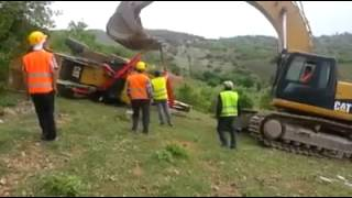 Backhoe Recovery - Epic Fail