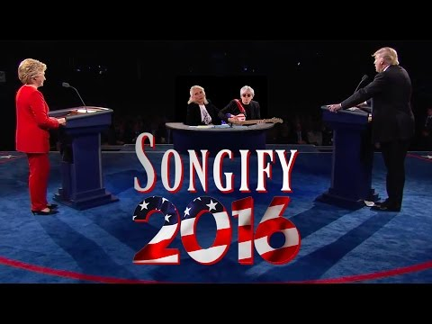 A Musical Remix of the First 2016 Presidential
