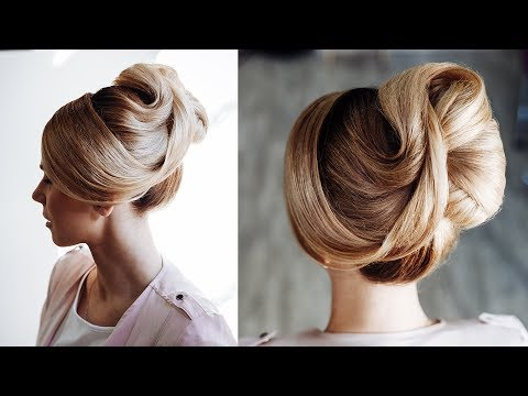 Top knot  hair do  wedding hairstyle 2018  hairstyles for long hair tutorial