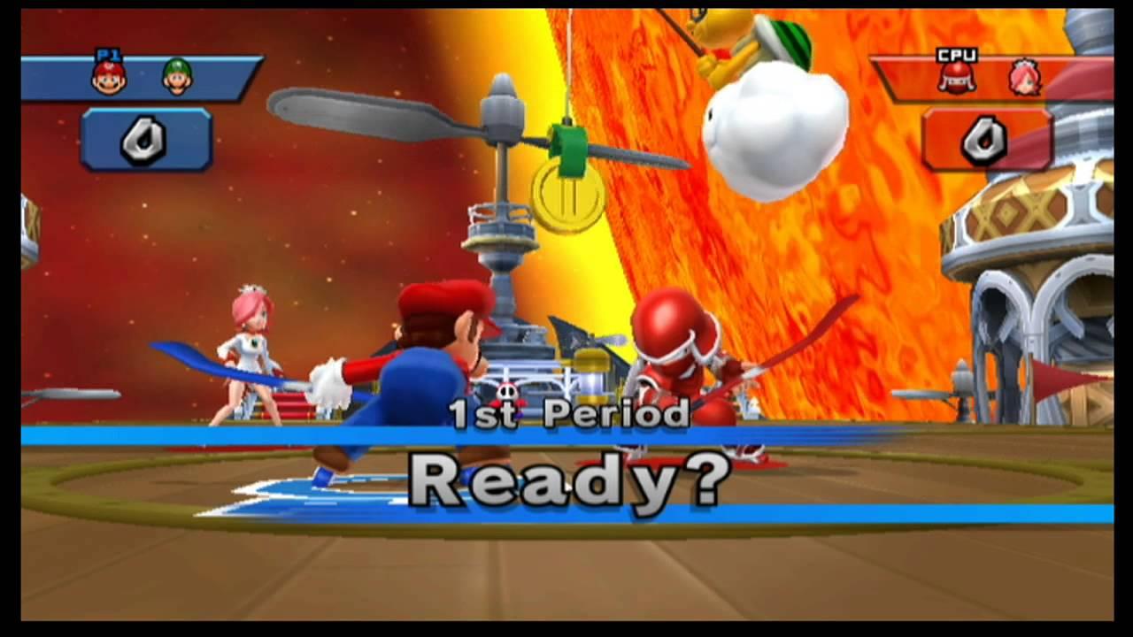 Mario Sports Mix – Hockey – Star Cup Hard Mode + Behemoth Battle