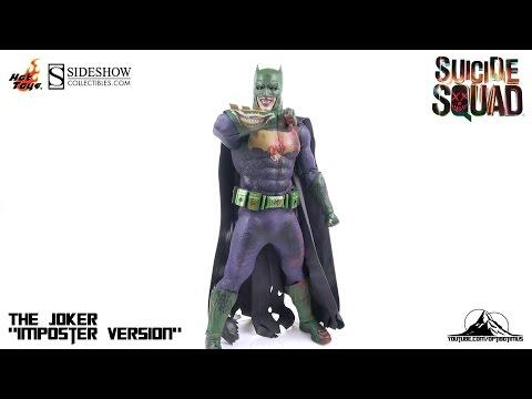 Hot Toys Suicide Squad THE JOKER (Batman Imposter Version) Video Review (видео)