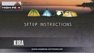 Комфортная палатка для путешествий всей семьей High Peak  Kira 5