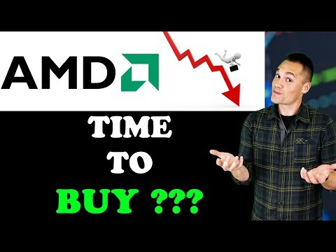 AMD Stock is crashing! - (Time to Buy? Sell? Hold?)