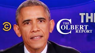 Video The Colbert Report - President Obama Delivers The Decree MP3, 3GP, MP4, WEBM, AVI, FLV Juli 2018