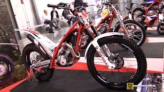 8. 2015 Gas Gas TXT Pro 300 Trial Bike - Walkaround - 2014 EICMA Milan Motorcycle Exhibition