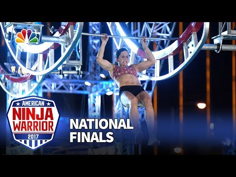 Jesse Labreck at the Las Vegas National Finals: Stage 1 - American Ninja Warrior 2017