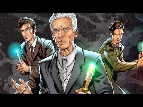 Doctor Who: Four Doctors Trailer Released