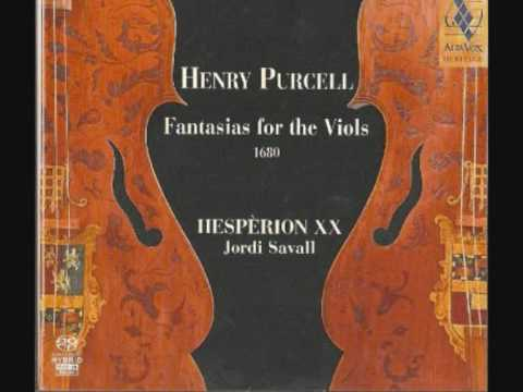 Fantasias for the viols  VII (PURCELL)
