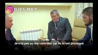 Video KHABIB RENCONTRE POUTINE !!! EN FRANCAIS MP3, 3GP, MP4, WEBM, AVI, FLV Juni 2019