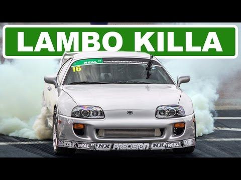 """1400HP """"Lambo Killer"""" Supra @ TX2K15!"""