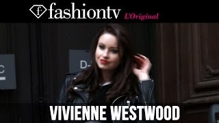 Vivienne Westwood Fall/Winter 2014-15 Arrivals | Paris Fashion Week PFW | FashionTV