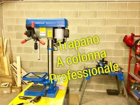 Recensione Trapano Colonna 500w fervi 0260 Review professional tools drill press