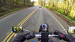 6. 2004 Suzuki SV650 Winding Road Test Ride POV
