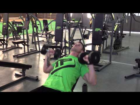 Incline Dumbbell Bench Press - Quarter REP PUMP METHOD
