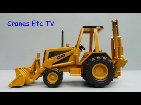 Norscot Caterpillar 416 Backhoe by Cranes Etc TV