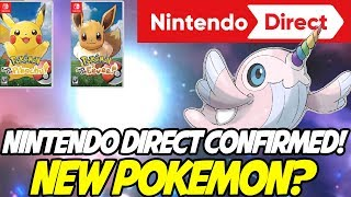 NINTENDO DIRECT TOMORROW! NEW POKEMON?? Pokemon Let's Go Pikachu! & Eevee by aDrive
