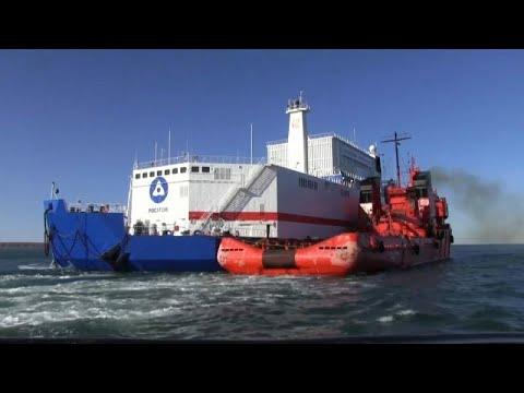 Arktis: Schwimmendes russisches Atomkraftwerk erreicht Einsatzort
