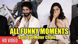 Video Batti Gul Meter Chalu Trailer Launch | FUNNY Moments | Shahid Kapoor, Shraddha Kapoor MP3, 3GP, MP4, WEBM, AVI, FLV Agustus 2018