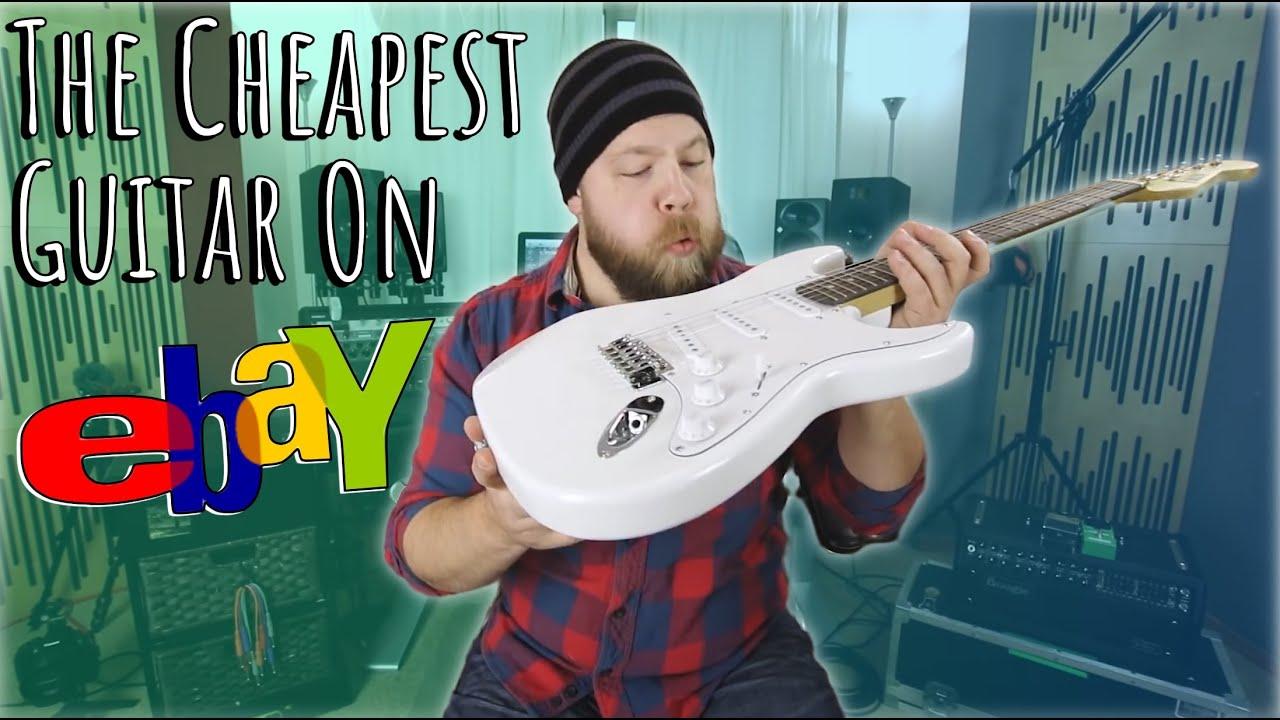 The Cheapest Guitar On eBay